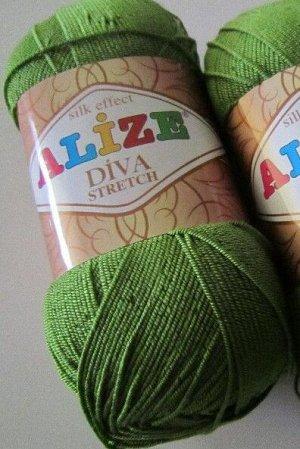 Пряжа для вязания Alize Diva Stretch Ализе Дива стрейч №210