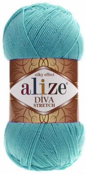 Пряжа для вязания Alize Diva Stretch Ализе Дива стрейч №376
