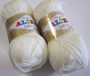 Пряжа для вязания Alize Diva №62