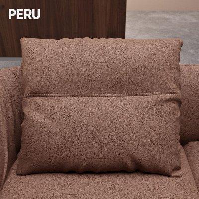 [Egida] Ткани мебельные (Купоны) / Экокожа <Обивка> 🎀  — Ткань мебельная PERU (Велюр) — Ткани