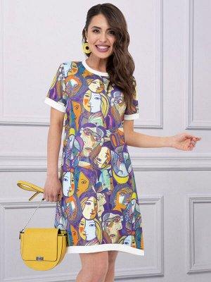 Платье Люблю Пикассо (арт)