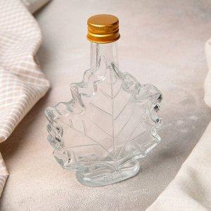 Бутылка «Клён», 100 мл, 10?3,5?14 см