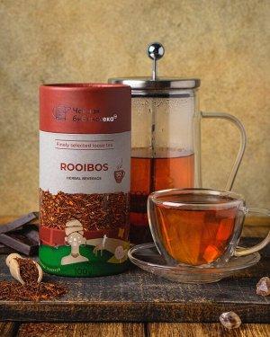 Ройбуш Измельченные и ферментированные листья южноафриканского кустарника ройбуш. Этнический напиток коренных народов Африки, богатый полезными биологически активными компонентами. Обладает бодрящим э