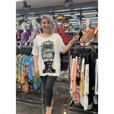 10~Женский каприз - одежда из Турции до 62 размера. — Новиночки! Футболки, блузки, все самое модное. — Большие размеры