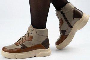 Ботинки Тип: ботинки/кроссовки Подошва: ПУ Сезон: демисезон, лето Вид застежки: молния и шнурки Верх: натуральная кожа Подклад: байка