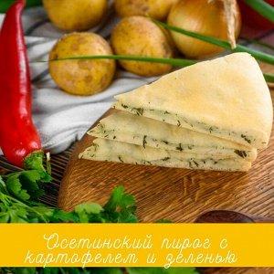 Пирог с картофелем и зеленью 500г