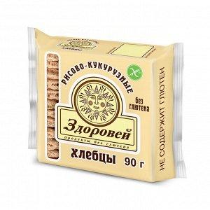 Хлебцы 90г рисово-кукурузные
