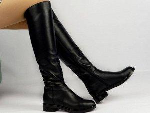 Ботфорты Тип: Ботфорты на худую ногу Материал верха: натуральная кожа Подошва - ТЭП  байка, шерстяной вязаный мех  Объем голенища 35,5 см в 36/37 размере, 36,5 см в 38/39 размере, 37,5 в 40/41 размере