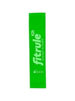 Фитнес-резинка для ног FitRule (Зеленый 10 кг)