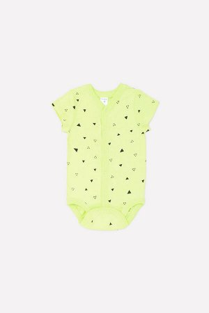 Полукомбинезон(Весна-Лето)+baby (треугольники на салатовом)