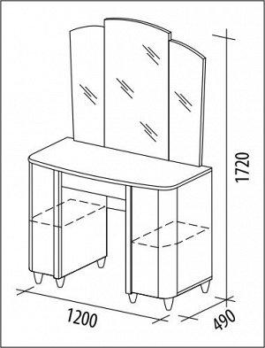 Туалетный стол Катрин 92.06