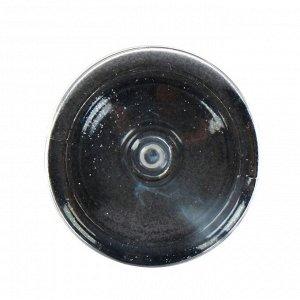 Декоративные блёстки LU*ART Lu*Glitter (сухие), 20 мл, размер 0.2 мм, чёрный
