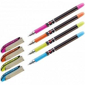 Ручка шариковая Cello Maxriter XS tinted black узел 0,7мм, чернила синие, грип, микс 709
