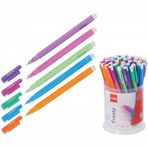 Ручка шариковая Cello Frosty узел 0,7мм, чернила синие, микс 705 5035207