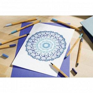 Ручка капиллярная STABILO Point 88, 0,4 мм, чернила синие