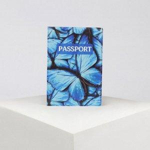 Обложка для паспорта, цвет синий 4819677