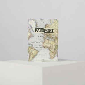 Обложка для паспорта, цвет белый 4732768