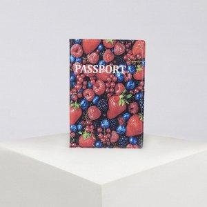Обложка для паспорта, цвет разноцветный 4819674