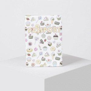 Обложка для паспорта, цвет белый 4922395