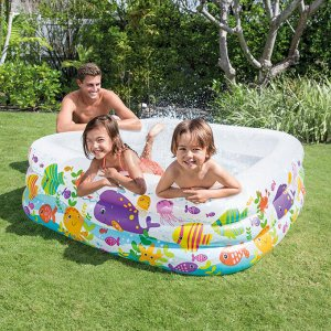 Детский надувной бассейн Intex 159х159х50см , 340л 🌊
