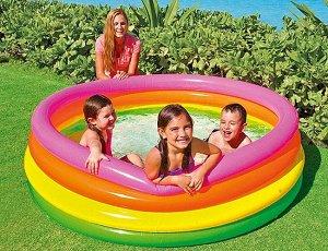 Детский надувной бассейн intex 168х46 см , 780 л 🌊