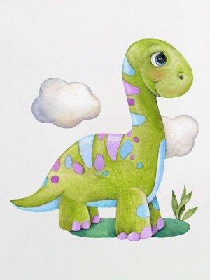 """Шапочка с принтом """"Динозаврик"""""""
