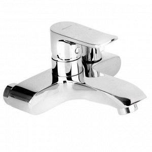 Смеситель для ванны Accoona A6312, однорычажный, картридж 35 мм, с душевым набором, хром