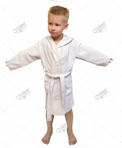 ДУШКА-МАХРУШКА-для самых любимых.Полотенца*халаты*тапки  — Махровые халаты детские — Одежда