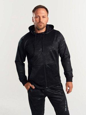 Куртка черный камуфляж