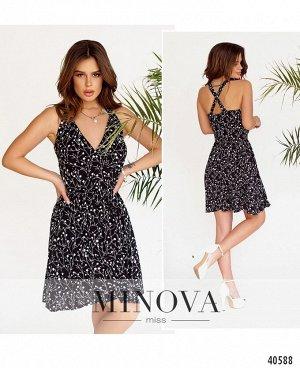 Платье №2013-черный