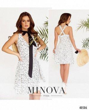 Платье №2013-белый
