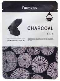 Farm Stay Visible Difference Charcoal Mask Pack Маска с экстрактом древесного угля 23 мл.