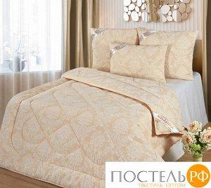 """Одеяло """"Верблюжья шерсть"""" Премиум Лайт жаккард 1,5 спальный"""
