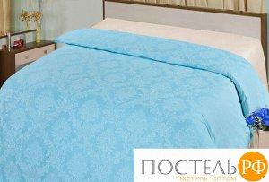 Аквамарин пододеяльник 1,5 спальный поплин-жаккард