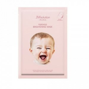 JMSolution MAMA Pureness Brightening Mask Гипоаллергенная осветляющая тканевая маска, 30 мл