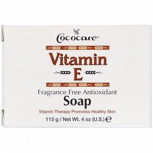 Cococare, Vitamin E Soap, Fragrance Free Antioxidant, 4 oz (113 g)