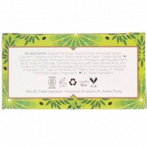 Nubian Heritage, Мыло с оливковым маслом и зеленым чаем, 5 унц. (142 г)