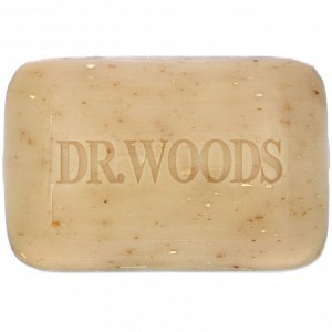 Dr. Woods, Сырое черное мыло для тела, 149 г (5,25 унции)