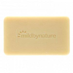 Mild By Nature, Кусковое мыло с необработанным маслом ши с витамином Е, розмарином, миррой и ладаном, 141 г (5 унций)