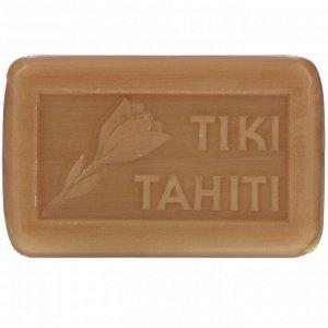 Monoi Tiare Tahiti, French-Milled Soap Enriched with Monoi, Tiare Scent, 4.55 oz (130 g)