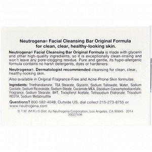 Neutrogena, Мыло для чистки лица, 3,5 унции (100 г)