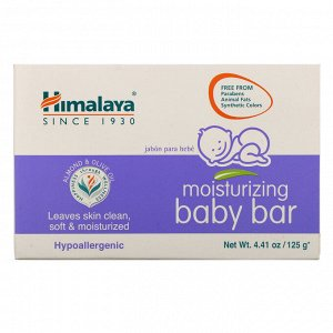 Himalaya, Увлажняющее детское мыло, 4,41 унц. (125 г)