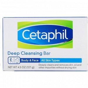 Cetaphil, Мыло для глубокого очищения, 127 г