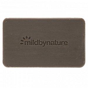 Mild By Nature, Глина для детоксикации, кусковое мыло, эвкалипт и перечная мята, с ископаемой глиной, 141 г (5 унций)