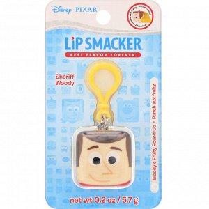 Lip Smacker, Бальзам для губ в кубике Pixar, Sheriff Woody, фруктовый, 5,7 г