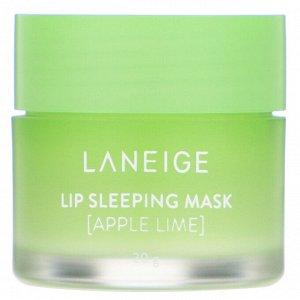 Laneige, Lip Sleeping Mask, Apple Lime, 20 g