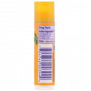 Alba Botanica, Увлажняющий солнцезащитный бальзам для губ, SPF 25, 4,2 (0,15 унции)