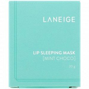 Laneige, Lip Sleeping Mask, Mint Choco, 20 g