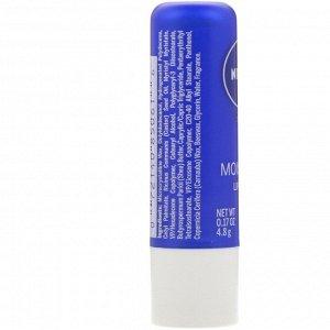 Nivea, Поцелуй влаги, основной уход за губами, 4,8 г (0,17 унции)