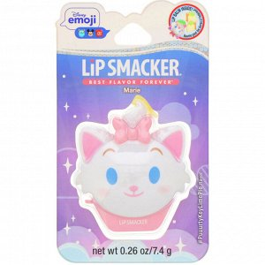 Lip Smacker, Disney Emoji, Marie, бальзам для губ, с ароматом лаймового пирога, 7,4 г